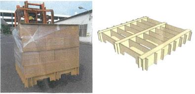 Kumiパレによるパレット単位での積降